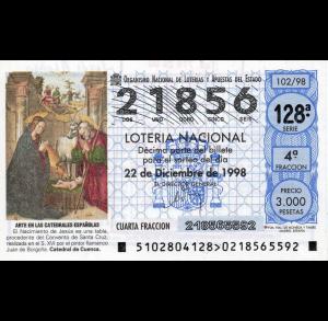 El Gordo de Navidad de 1998 – El día que paramos Sanse
