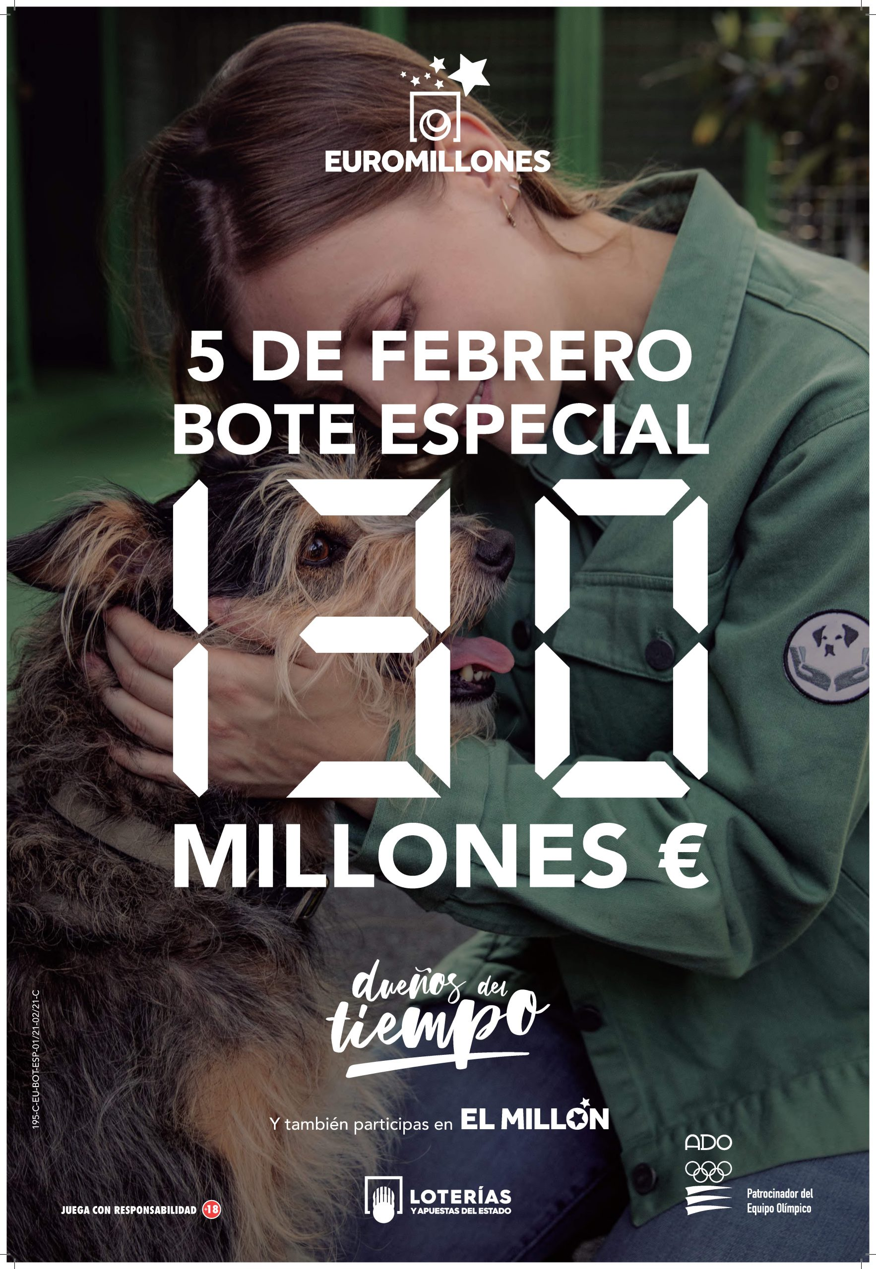 SORTEO ESPECIAL 130 MILLONES DE EUROS 5 DE FEBRERO