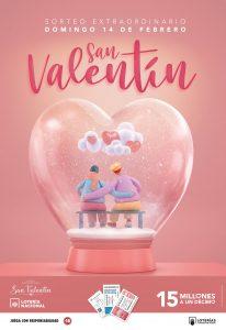 Sorteo Extraordinario de San Valentín 2021